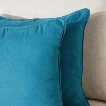 Panama Cushion Cover with Zip Closure - Set of 2