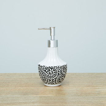 Meera Hand Painted Soap Dispenser