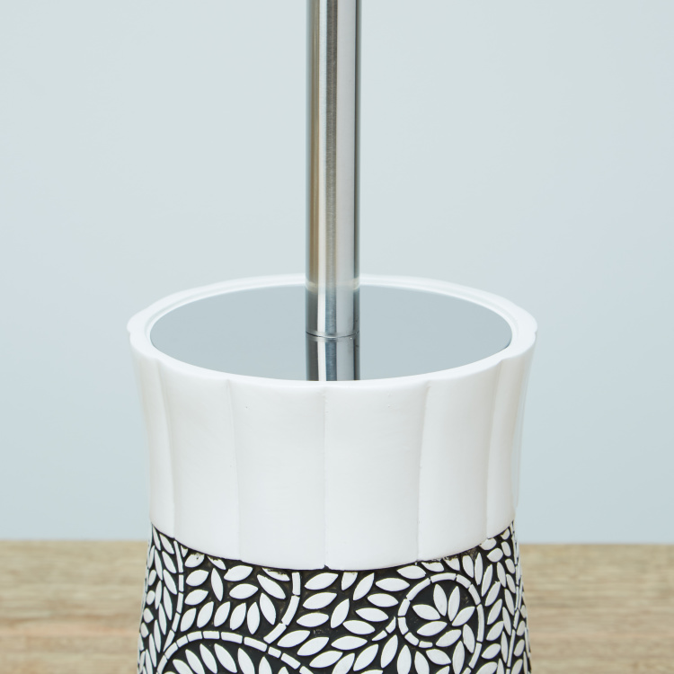 Meera Hand Made Toilet Brush Holder with Brush