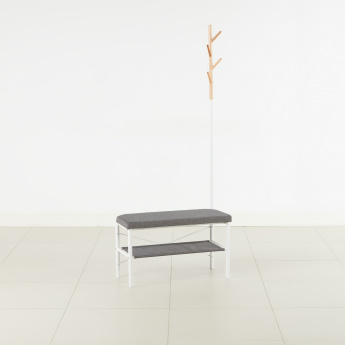 Tree Tall Coat Hanger with Bench