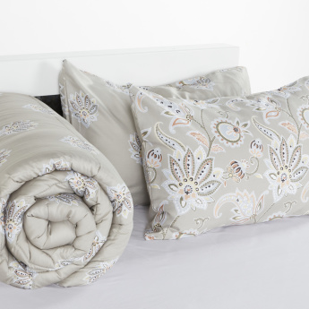 Orient Printed 3-Piece Super King Comforter Set - 250x260 cms