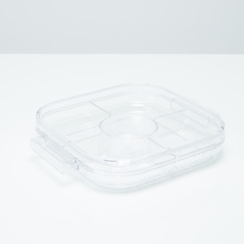 Krystal Server with Dividers and Lid