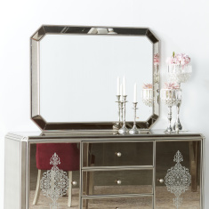 Jewel Mirrored Buffet Mirror