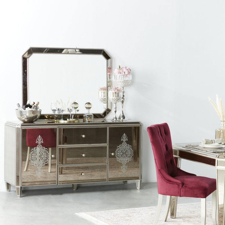Jewel Buffet Mirror