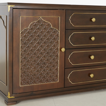 Mughal 4-Drawer Buffet with 2-Doors