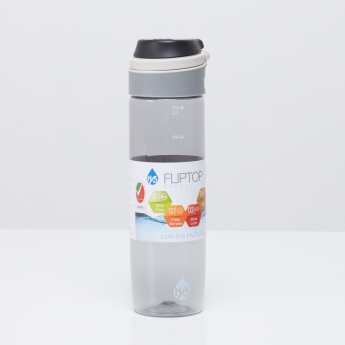 Aqua Drinking Bottle with Fliptop Lid - 720 ml