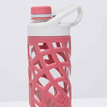 Aqua Drinking Bottle with Flare Lid and Handle - 600 ml