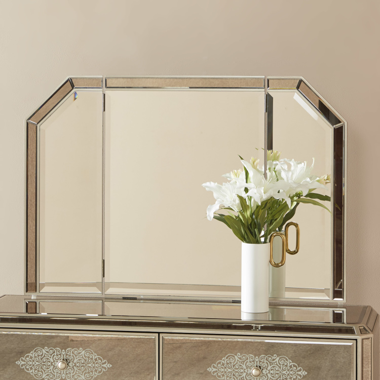 Jewel 3-Fold Mirror