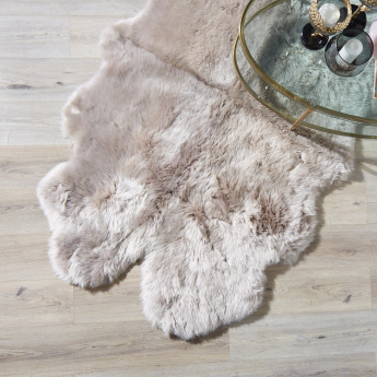 Sheep Skin Plush Rug - 110x180 cms