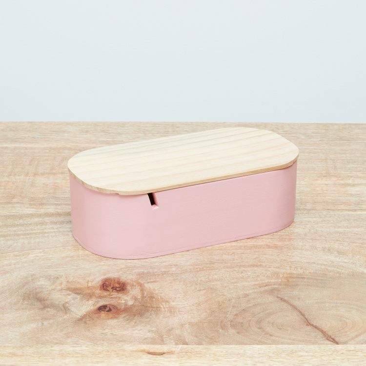 Felicia Oval Jewellery Box with Mirror and Lid