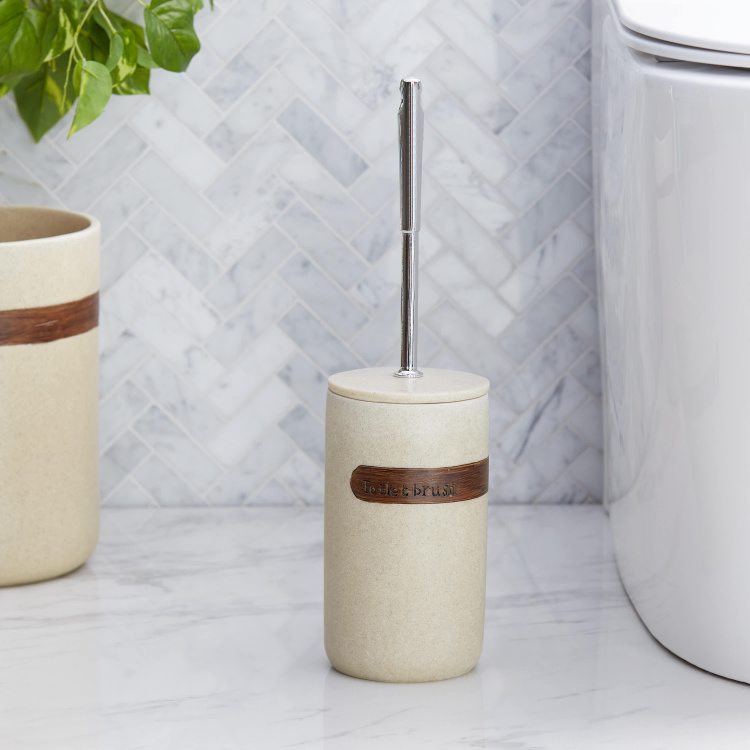Masaki Toilet Brush Holder with Cover
