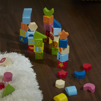 Carson Wisdom 56-Piece Building Blocks Set