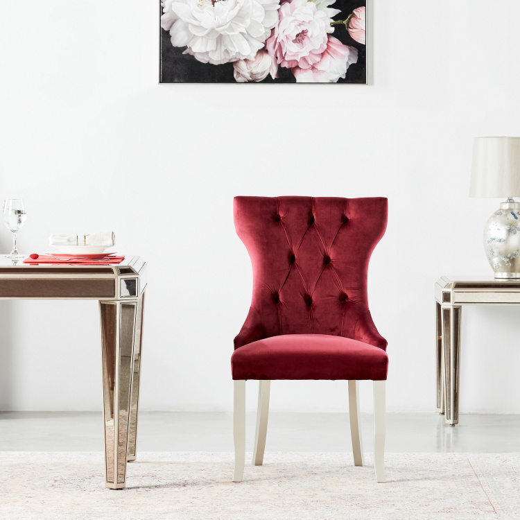 Jewel Velvet Tufted Dining Chair