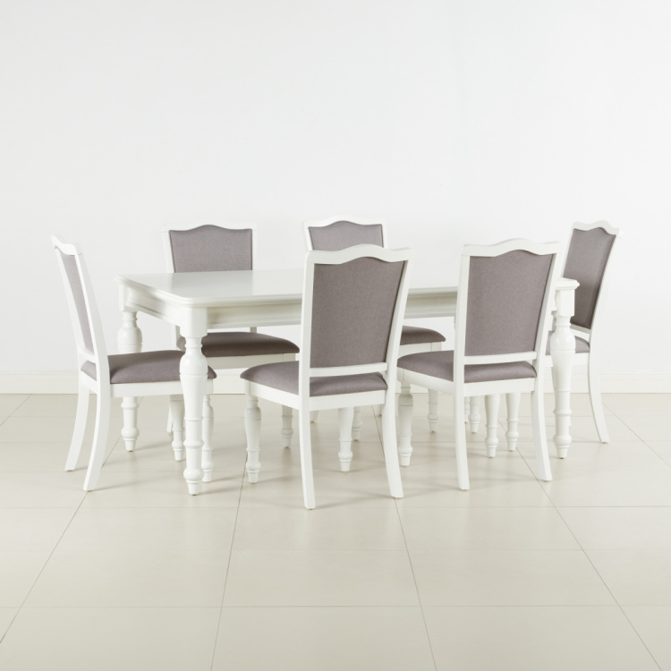 Durban 6 Seater Dining Table Set