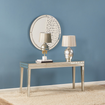 Domino Console Table with Mirror