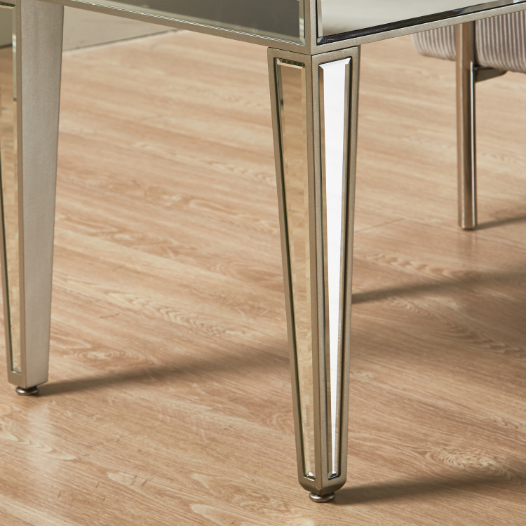 Domino New Mirrored End Table