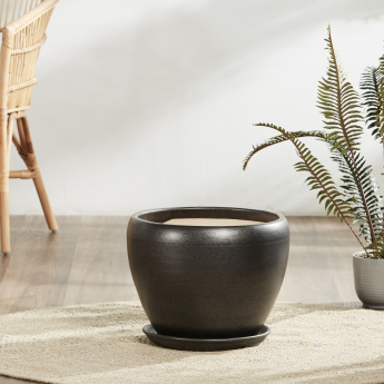Cocoa Beach Round Planter with Saucer