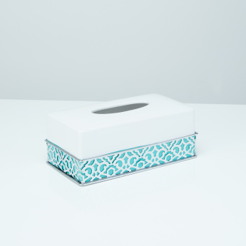 Bassa Cutout Detail Tissue Box Cover