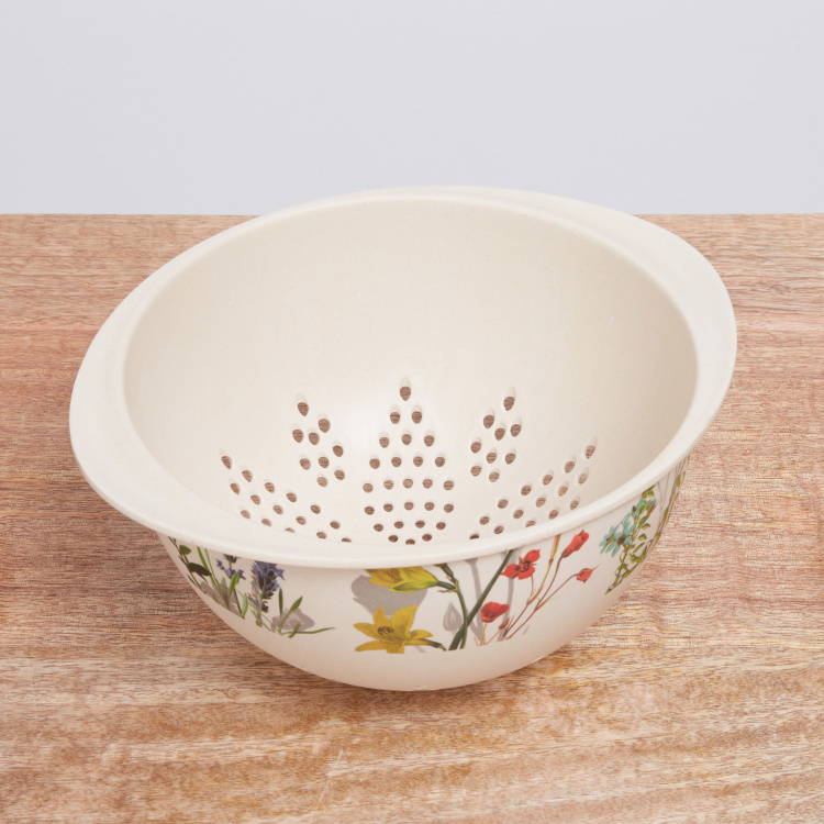 Nature Kitchen Lilly Printed Colander