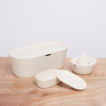 Nature Kitchen Pearl Butter Dish