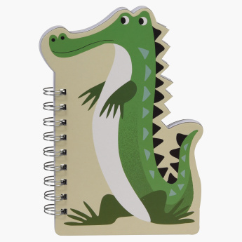 Harry The Crocodile Printed Spiral Bound Notebook
