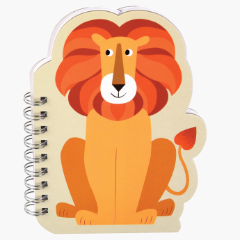 Charlie The Lion Printed Spiral Bound Notebook