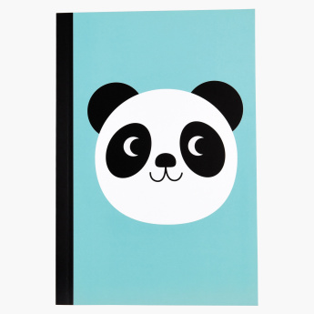 Miko The Panda Printed A5 Notebook