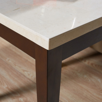 Ken End Table with Marble Top