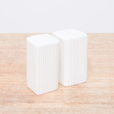 Ripple Textured 2-Piece Salt and Pepper Shaker Set