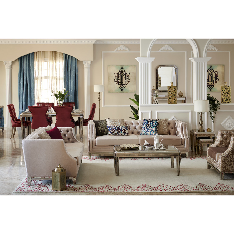 Jewel Tufted 2-Seater Sofa