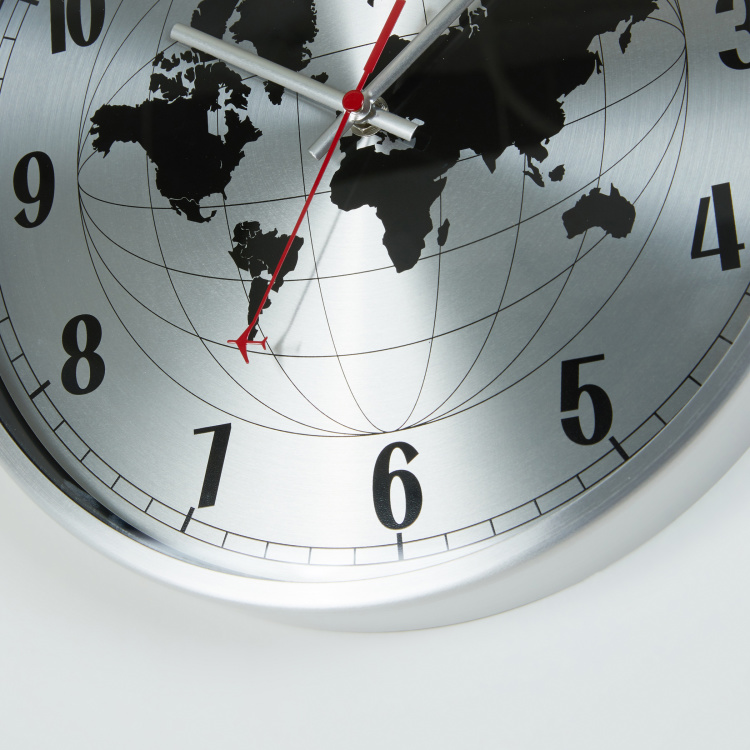 Round The World Wall Clock
