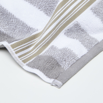 Pure Source Orion Striped Hand Towel - 50x90 cms