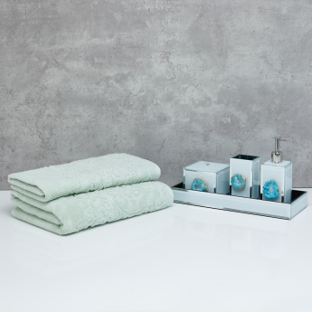Impression Textured Bath Towel - 70x140 cms