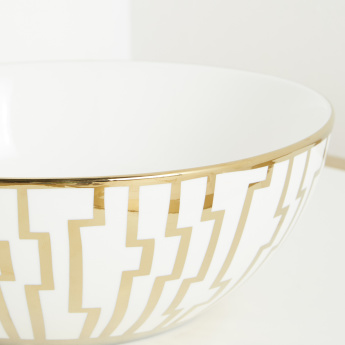 Grasse Decorative Printed Bowl