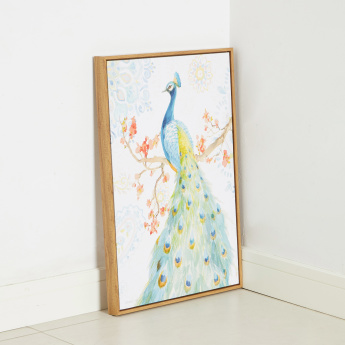 Garden Prince Picture Framed Canvas