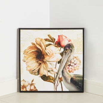 Hadidah A Framed Canvas