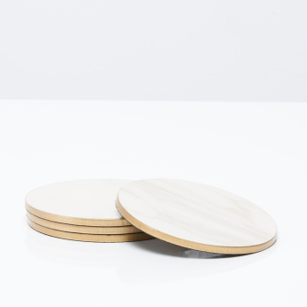 Wisture Round Coasters - Set of 4