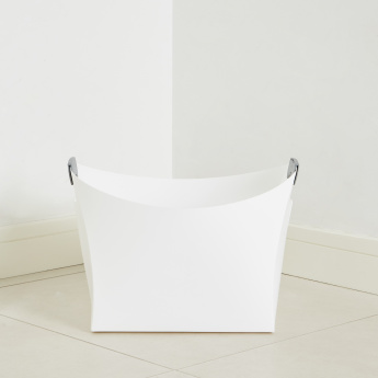 Origami Storage Basket with Cutout Handles