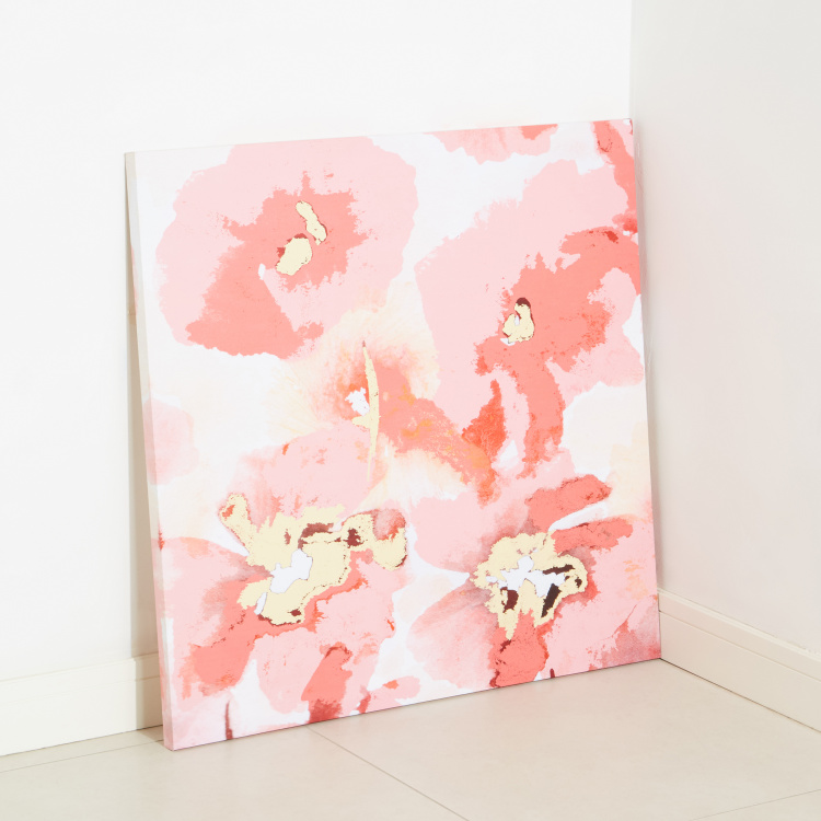 Hibiscus Printed Canvas