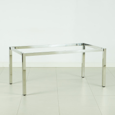 Blend-X Polished Table Frame