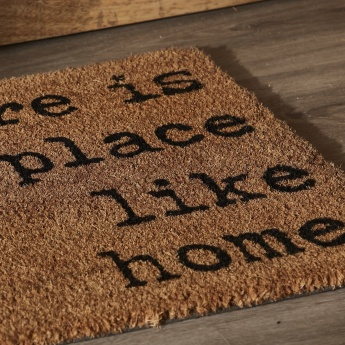 Home Textured and Printed Doormat - 40x60 cms