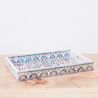 Kaleidoscope Mosaic Decorative Tray