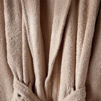 Ashley Pocket Detail Bathrobe - Medium