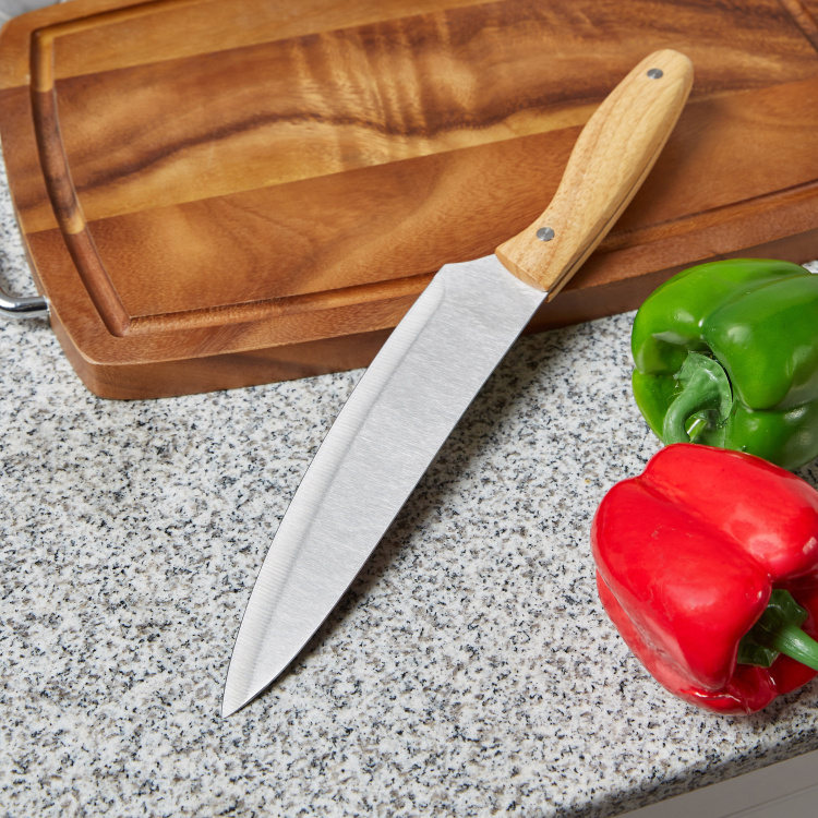 Naturelle Chef's Knife with Wooden Handle