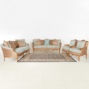 Manhattan 3+2+1+1 Seater Sofa Set with Scatter Cushions