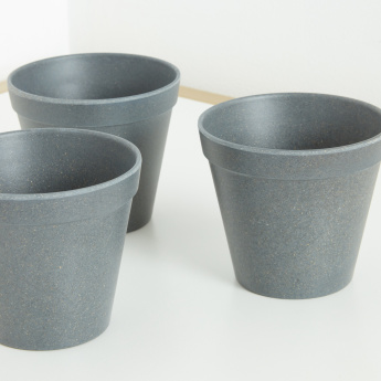 Ballon Bamboo Powder Planter - Set of 3