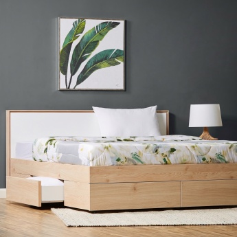 Calaluna 5-Piece King Storage Bed Set - 180x210 cms