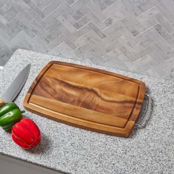 Mountain View Wooden Cutting Board