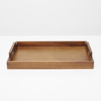 Mountain View Wooden Serving Tray