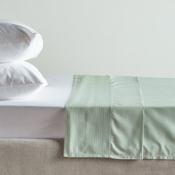 Eternity Luxe Super King Flat Sheet - 260x270 cms